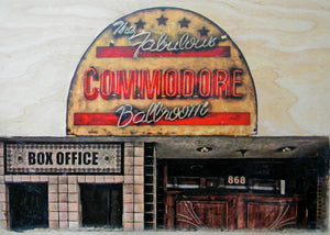 """Commodore Ballroom"" Print"