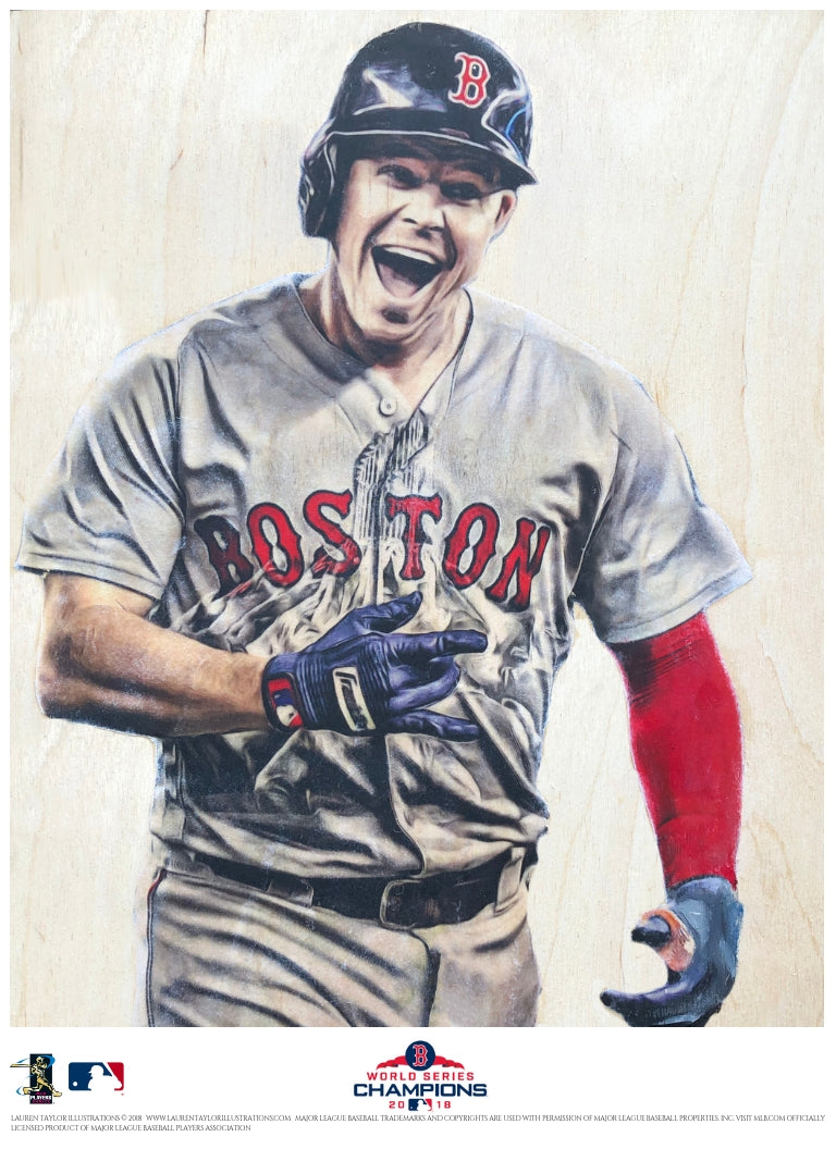 """Brockstar"" (Brock Holt) - Officially Licensed MLB Print"