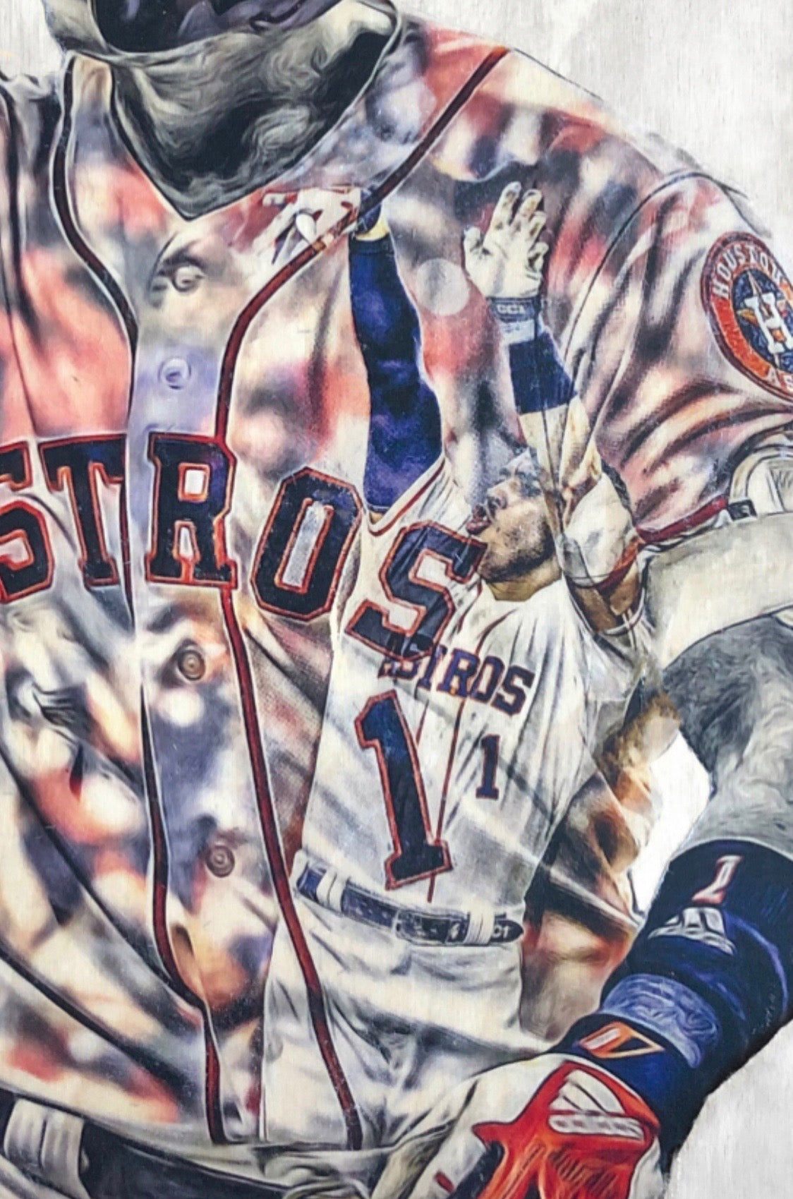 """Correa Walk Off"" (Carlos Correa) Houston Astros - Officially Licensed MLB Print - Limited Release"
