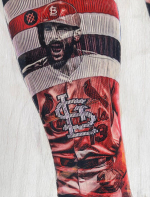 """Carp"" (Matt Carpenter) St. Louis Cardinals - Officially Licensed MLB Print - Limited Release"