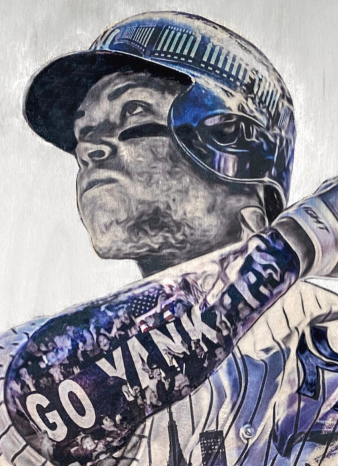 """BAJ"" (Aaron Judge) New York Yankees - Officially Licensed MLB Print - Limited Release"