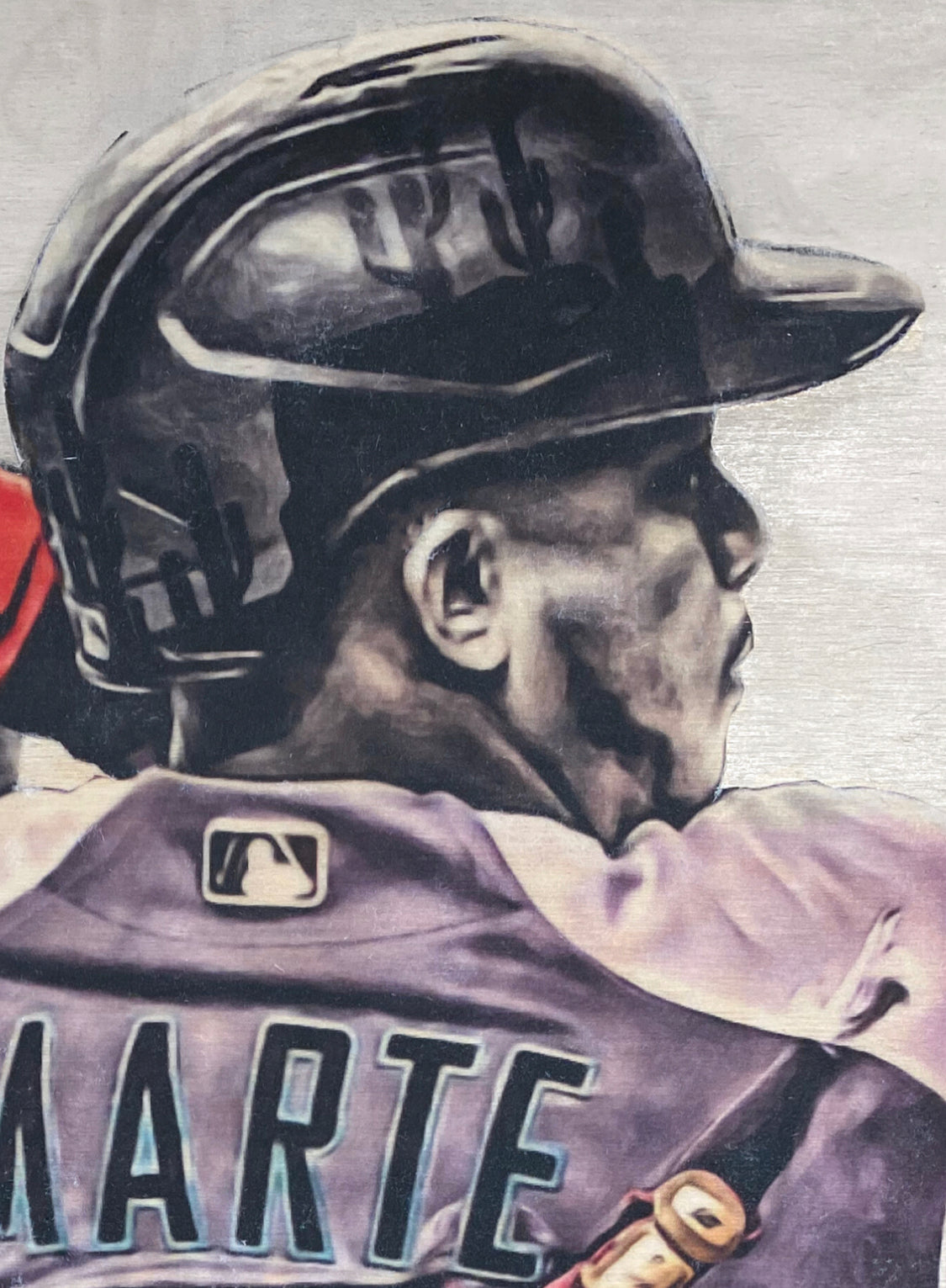 """El Niño"" (Ketel Marte) Arizona Diamondbacks - Officially Licensed MLB Print - Limited Release"