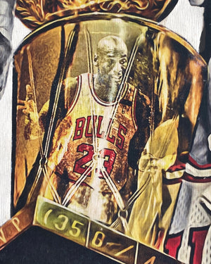 """1992"" (Michael Jordan) Chicago Bulls - 1/1 ORIGINAL on Birchwood"