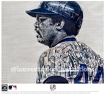 """Mr. October"" (Reggie Jackson) New York Yankees - Officially Licensed MLB Cooperstown Collection Print - Limited Release"