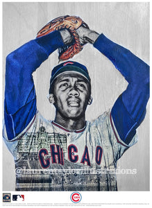 """Fergie"" (Fergie Jenkins) Chicago Cubs - Officially Licensed MLB Cooperstown Collection Print - Limited Release"