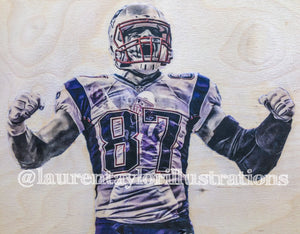 "Limited Run /87 ""GRONK"" Print"