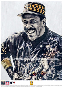 """Pops"" (Willie Stargell) Pittsburgh Pirates - Officially Licensed MLB Cooperstown Collection Print - Limited Release"