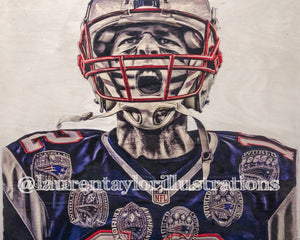 """Brady"" Print (Updated with the 6th Ring!)"