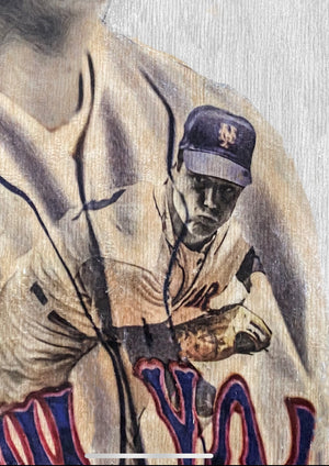 """The Franchise"" (Tom Seaver) New York Mets - Officially Licensed MLB Cooperstown Collection Print - Limited Release"