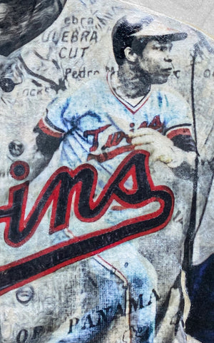 """Sir Rodney"" (Rod Carew) Minnesota Twins - Officially Licensed MLB Cooperstown Collection Print - Limited Release"