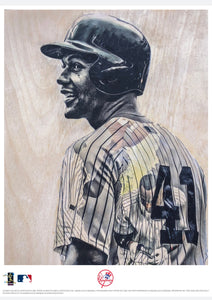 """Andujar"" - Officially Licensed MLB Print - Limited Release"