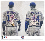 """Bryzzo"" (Kris Bryant and Anthony Rizzo) - Officially Licensed MLB Print - Limited Release"