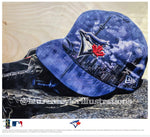 """The 6ix"" (Toronto Blue Jays) - Officially Licensed MLB Print - Limited Release"