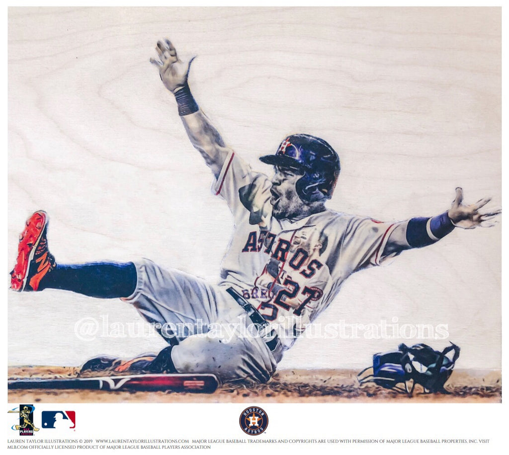 """Gigante"" (Jose Altuve) - Officially Licensed MLB Print - Limited Release"
