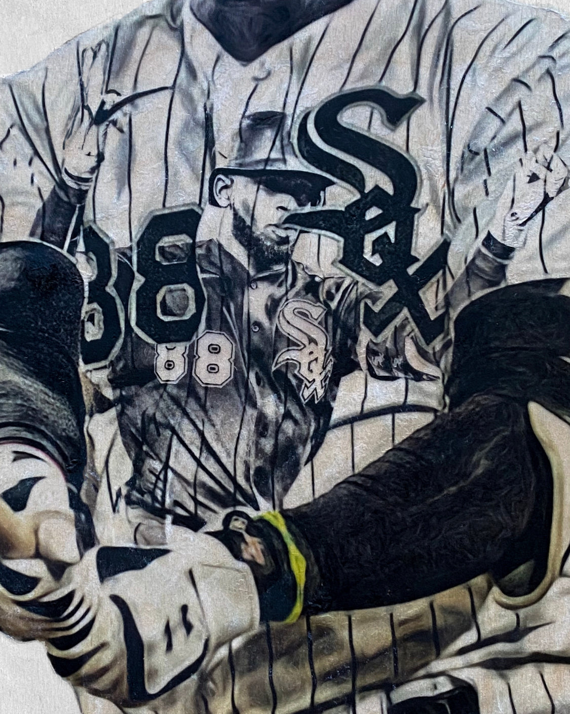 """La Pantera"" (Luis Robert) Chicago White Sox - Officially Licensed MLB Print - Limited Release"
