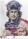 """Gary"" (Gary Carter) Montreal Expos - Officially Licensed MLB Cooperstown Collection Print - Limited Release"