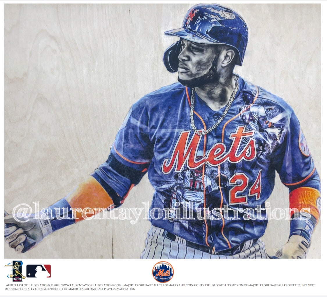 """Cano"" (Robinson Cano) - Officially Licensed MLB Print - Limited Release"