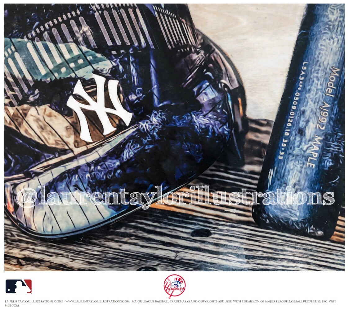 """Pinstripe Pride"" (New York Yankees) - Officially Licensed MLB Print - Limited Release"