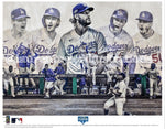 """Seven"" (Los Angeles Dodgers) 2020 World Series Champions - Officially Licensed MLB Print - Special Commemorative Limited Release"