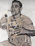 """Game 5"" (Yogi Berra) New York Yankees - 1/1 Original on Birchwood"