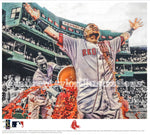 """Vázquez"" (Christian Vázquez) Boston Red Sox - Officially Licensed MLB Print - Limited Release"