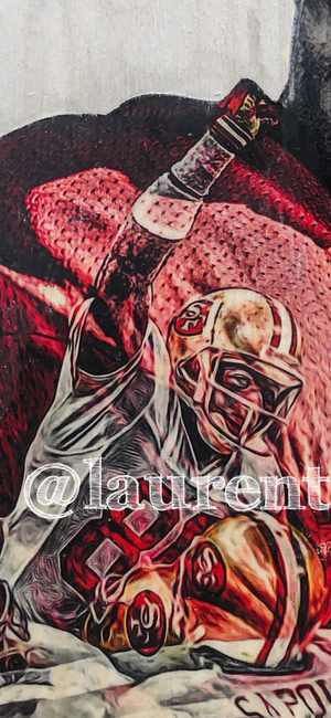"""Flash 80"" (Jerry Rice) San Francisco 49ers - NFL Football"