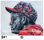 """Baby Shark"" (Gerardo Parra) Washington Nationals - Officially Licensed MLB Print - Limited Release"