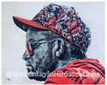 """Baby Shark"" (Geraldo Perra) Washington Nationals - 1/1 Original on Wood"
