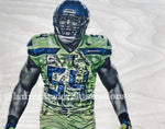 """Wagner"" (Bobby Wagner) Seattle Seahawks - NFL Football"