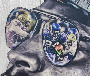 """Beast Mode"" (Marshawn Lynch) Seattle Seahawks - NFL Football"