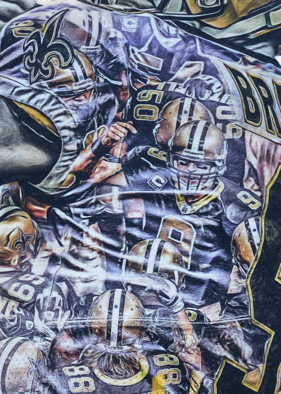 """Brees"" (Drew Brees) New Orleans Saints - NFL Football"
