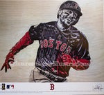 """World Series Mookie"" (Mookie Betts)  - Officially Licensed MLB Print"