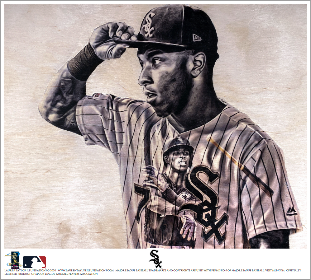 """TA7"" (Tim Anderson) Chicago White Sox - Officially Licensed MLB Print - Limited Release"