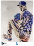 """Buetane"" (Walker Buehler) Los Angeles Dodgers - Officially Licensed MLB Print - Limited Release"