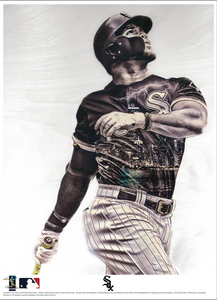 """YOAN"" (Yoan Moncada) Chicago White Sox - Officially Licensed MLB Print - Limited Release"