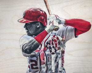 """Soto"" (Juan Soto) - Officially Licensed MLB Print - Limited Release"