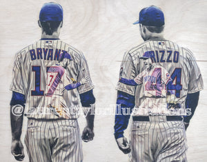 """Bryzzo"" Original on Wood"