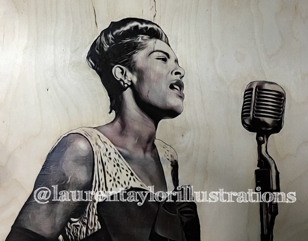 """Billie Holiday"" Print"