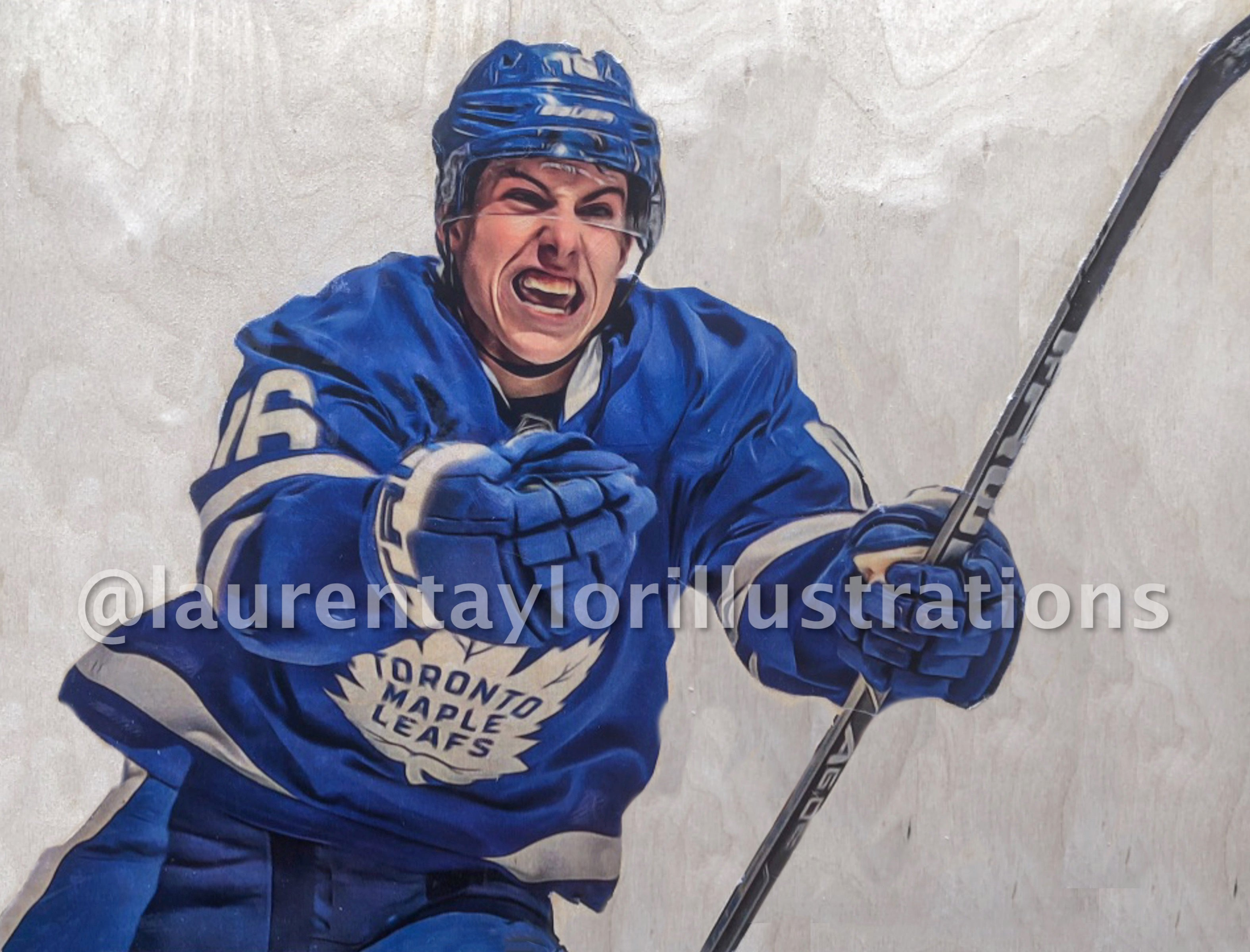 """Mitch Marner"" Toronto Maple Leafs Limited Print /50"