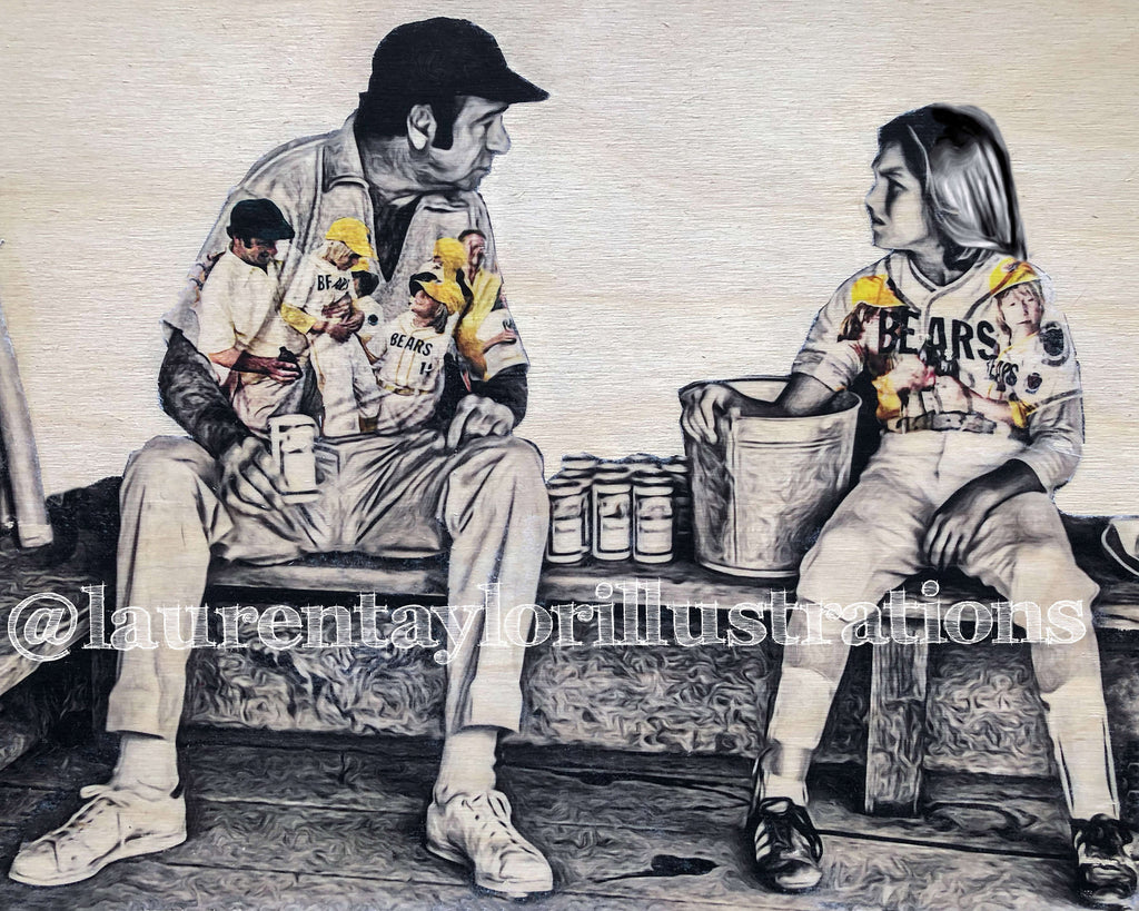 """Bad News Bears"" Print"