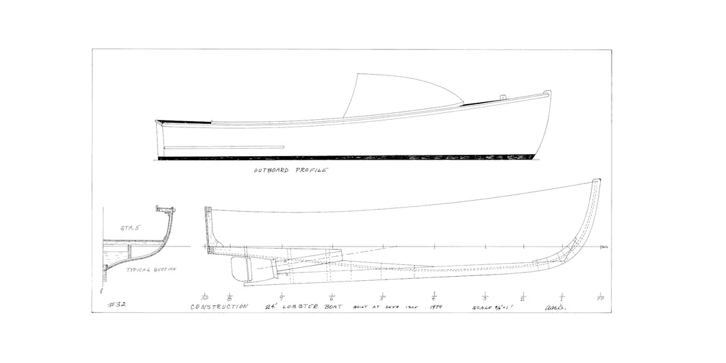 Arno Day 24' lobsterboat profile