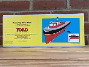 8″ Rubber Band Powered Tugboat