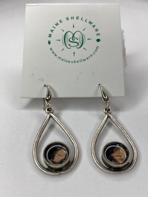 Silver Tear Drop Earrings