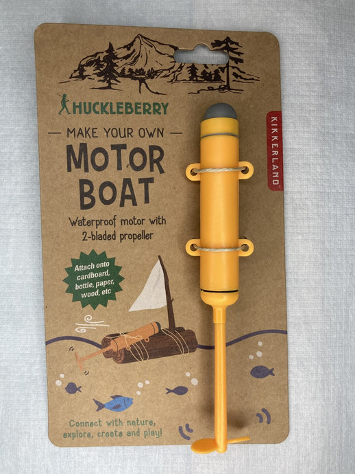 Make your own Motor Boat