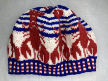 Hand Knit Lobster Hat
