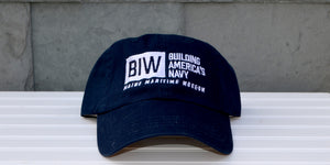 Navy Bath Iron Works: Building America's Navy baseball hat