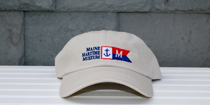 Natural Burgee baseball hat