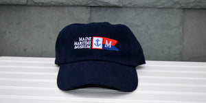 Navy Burgee Baseball Hat