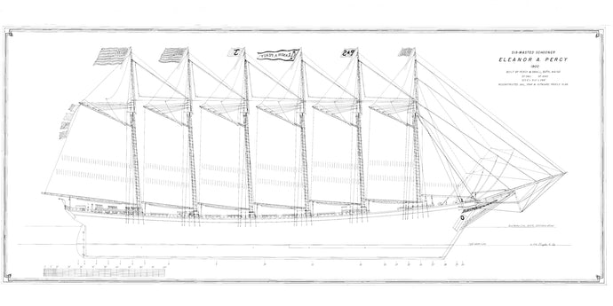 Eleanor A. Percy sail plan