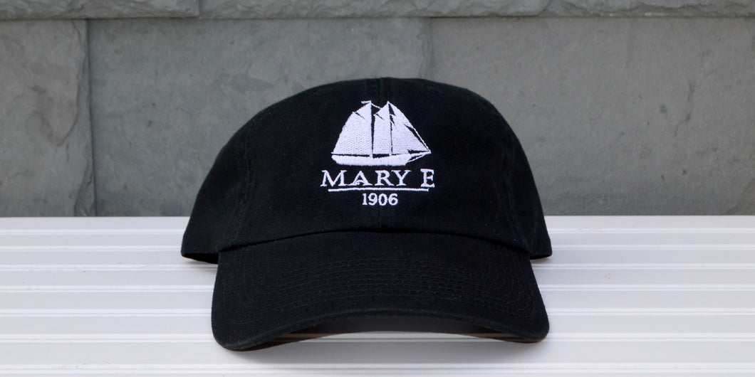 Black Mary E baseball hat